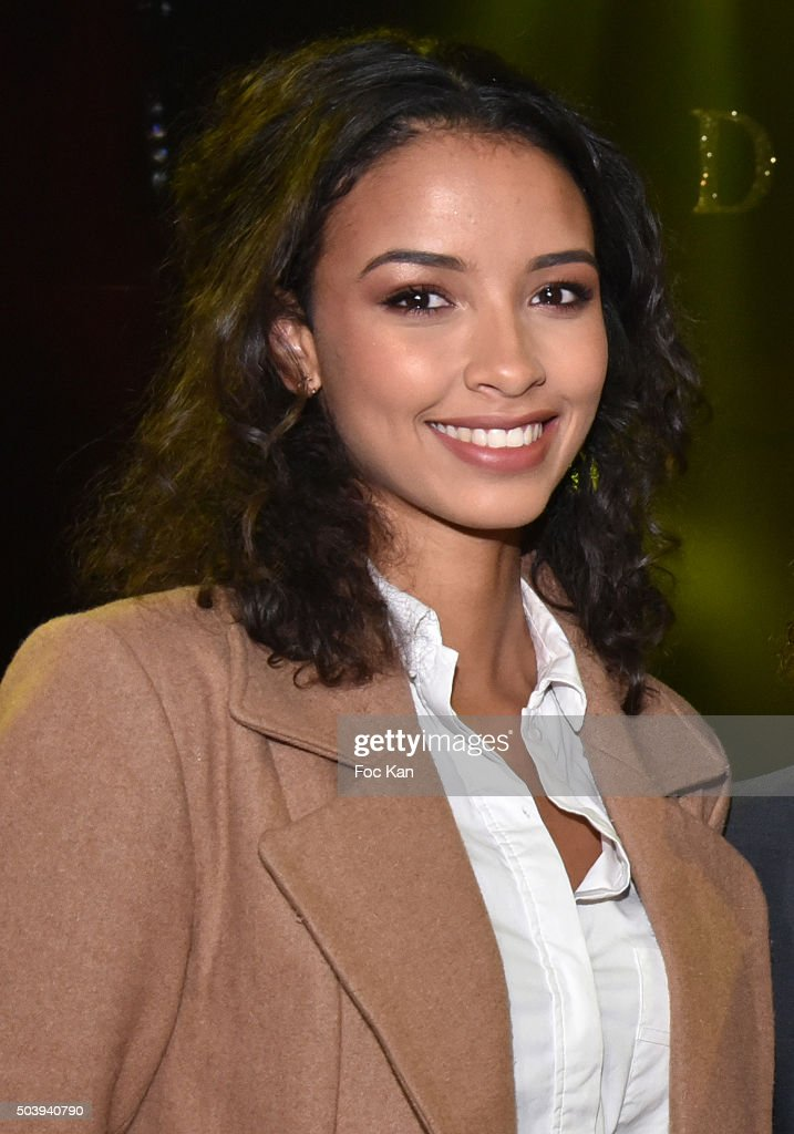 Miss France 2014 <a gi-track='captionPersonalityLinkClicked' href=/galleries/search?phrase=Flora+Coquerel&family=editorial&specificpeople=11782455 ng-click='$event.stopPropagation()'>Flora Coquerel</a> attends 'Handicirque' : 8Th Gala at Cirque Pinder Pelouse de Reuilly on January 7, 2016 in Paris, France.