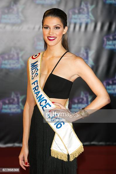 Miss France 2016 Iris Mittenaere attends the 18th NRJ Music Awards at Palais des Festivals on November 12 2016 in Cannes France