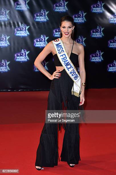 Miss France Iris Mittenaere attends the 18th NRJ Music Awards at Palais des Festivals on November 12 2016 in Cannes France