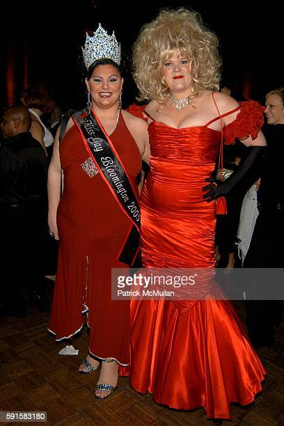 Miss Gay Bloomington 2005 and Farrah Moan attend Out 100 Awards at Capitale on November 11 2005 in New York City