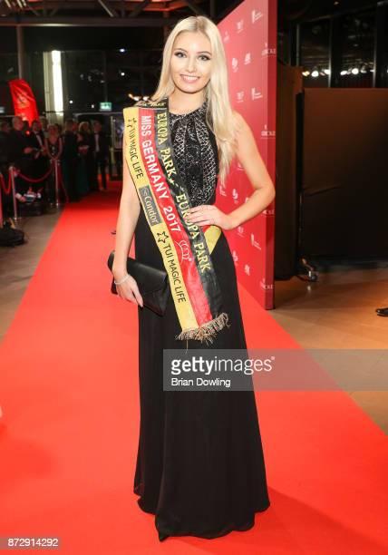 Miss Germany 2017 Soraya Kohlmann arrives at the TULIP Gala 2017 at MetropolisHalle on November 11 2017 in Potsdam Germany