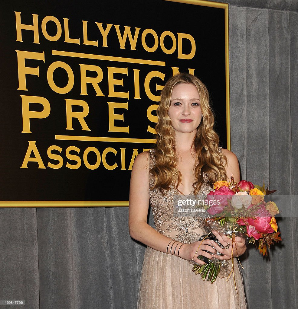 Miss Golden Globe 2015 <a gi-track='captionPersonalityLinkClicked' href=/galleries/search?phrase=Greer+Grammer&family=editorial&specificpeople=4524282 ng-click='$event.stopPropagation()'>Greer Grammer</a> attends the Hollywood Foreign Press Association and InStyle's celebration of the 2015 Golden Globe award season at Fig & Olive Melrose Place on November 20, 2014 in West Hollywood, California.