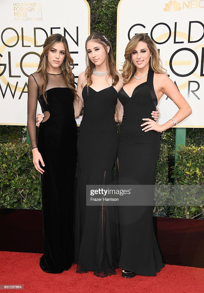 miss-golden-globes-sistine-stallone-miss-golden-globes-scarlet-and-picture-id631237664