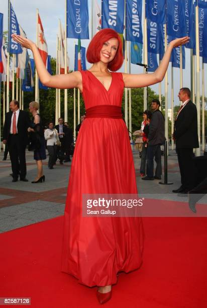 Miss IFA attends the IFA Opening Gala at the IFA consumer elctronics trade fair on August 28 2008 in Berlin Germany IFA will be open to the public...