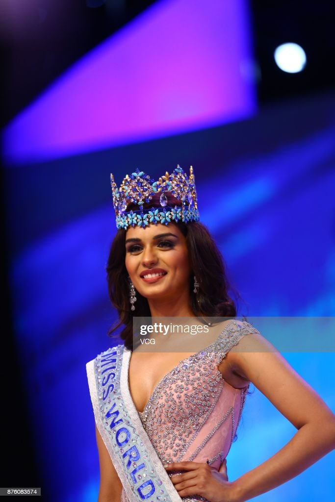 The Official Thread of Miss World 2017 ® Manushi Chhillar - India - Page 2 Miss-india-manushi-chhilar-celebrates-after-winning-the-67th-miss-picture-id876083574