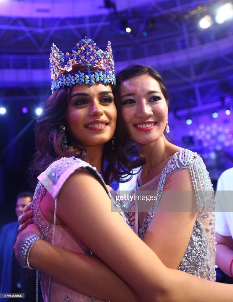 The Official Thread of Miss World 2017 ® Manushi Chhillar - India - Page 2 Miss-india-manushi-chhilar-celebrates-after-winning-the-67th-miss-picture-id876083590