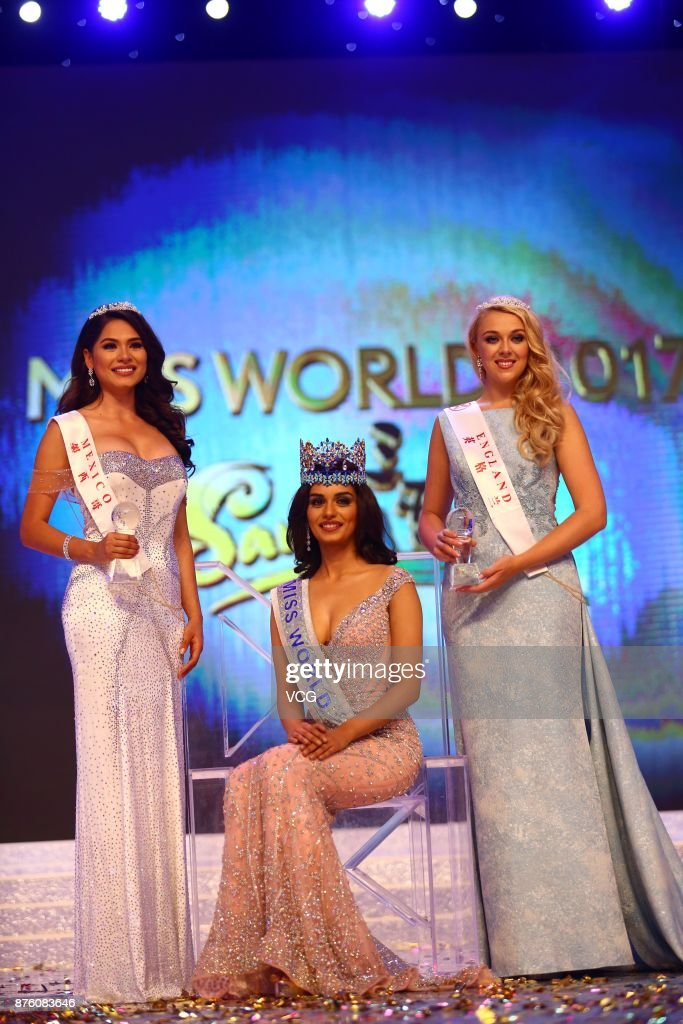 The Official Thread of Miss World 2017 ® Manushi Chhillar - India - Page 2 Miss-india-manushi-chhilar-celebrates-after-winning-the-67th-miss-picture-id876083646