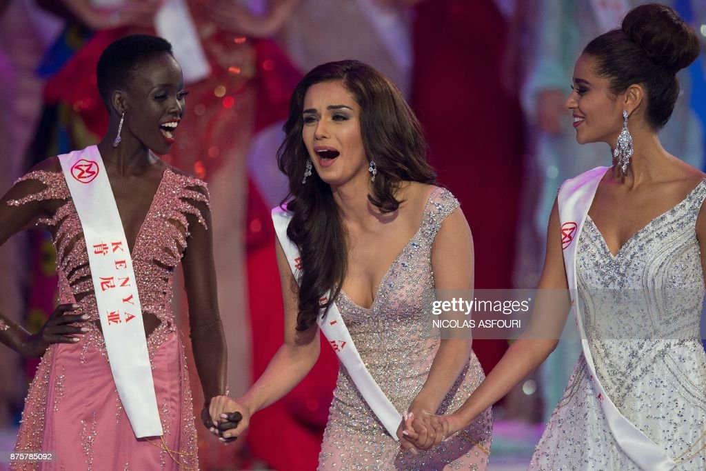 The Official Thread of Miss World 2017 ® Manushi Chhillar - India - Page 2 Miss-india-manushi-chhilar-reacts-as-she-wins-the-67th-miss-world-picture-id875785092