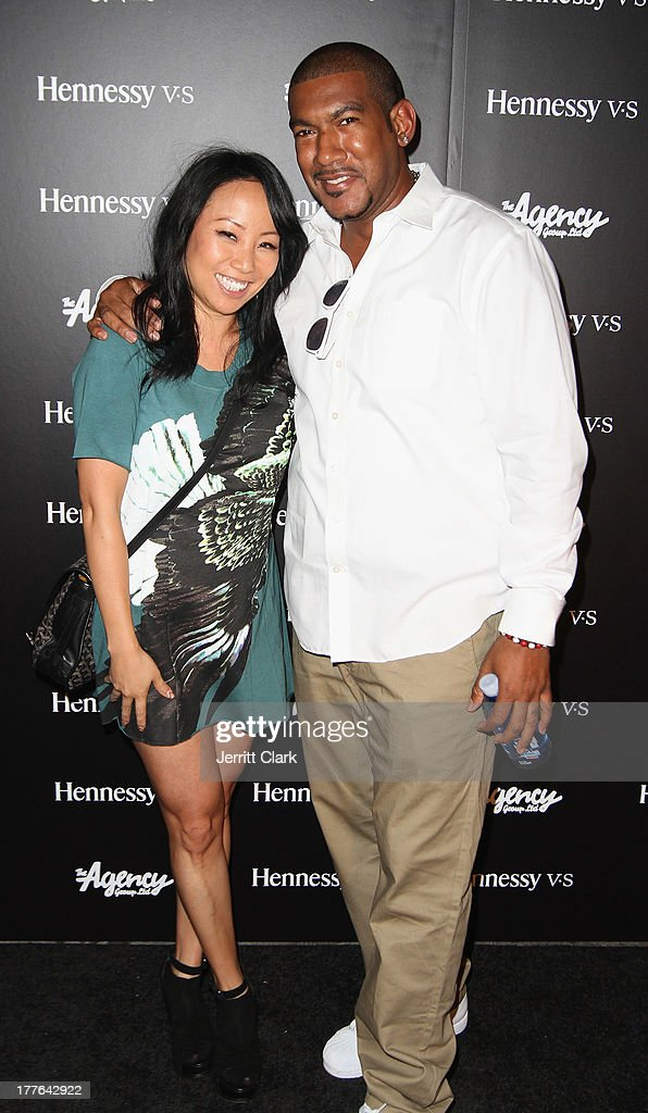 Miss Info and Hen Roc attend the Hennessy VS VMA Celebration at Avenue on August 24, 2013 in New York City.