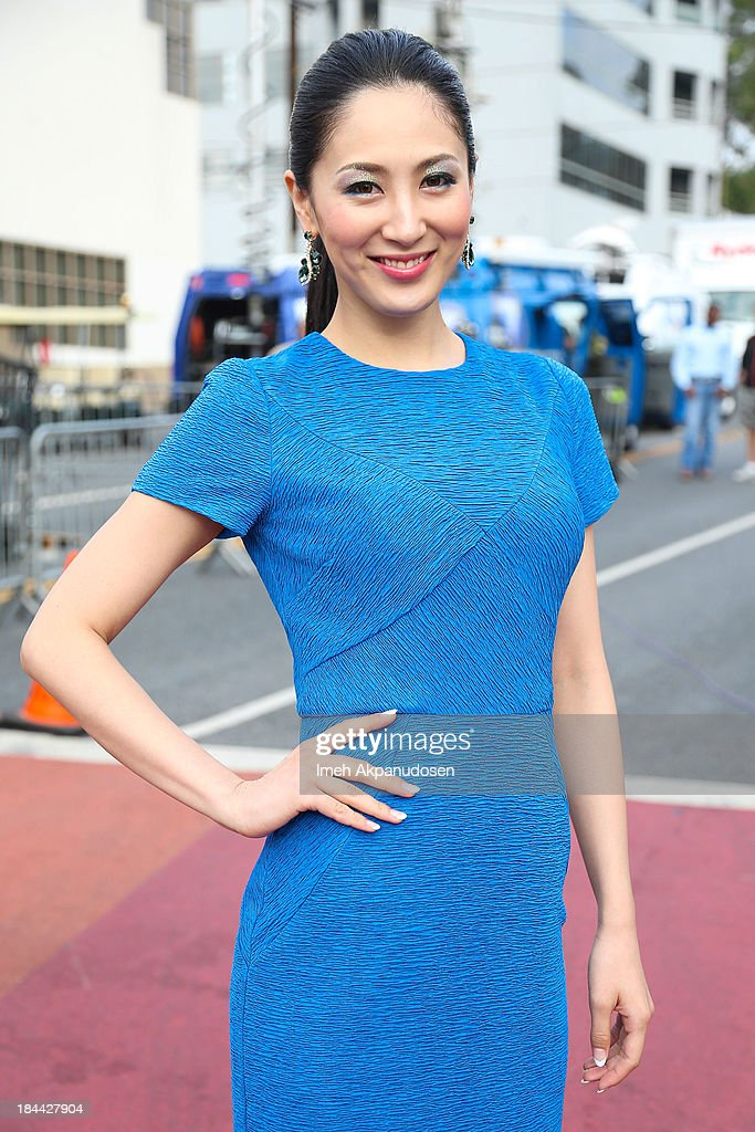 Miss International 2012 Ikumi Yoshimatsu attends the 29th Annual AIDS Walk LA on October 13, 2013 in West Hollywood, California.