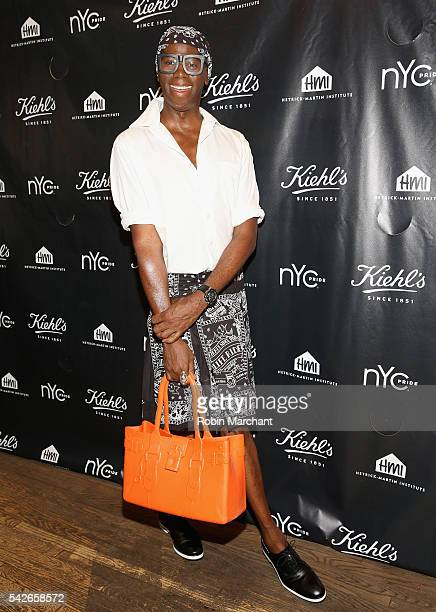 Miss J Alexander attends NYC Pride and Kiehl's Since 1851 Celebrate Pride Week 2016 at Kiehl's Flagship Store on June 23 2016 in New York City