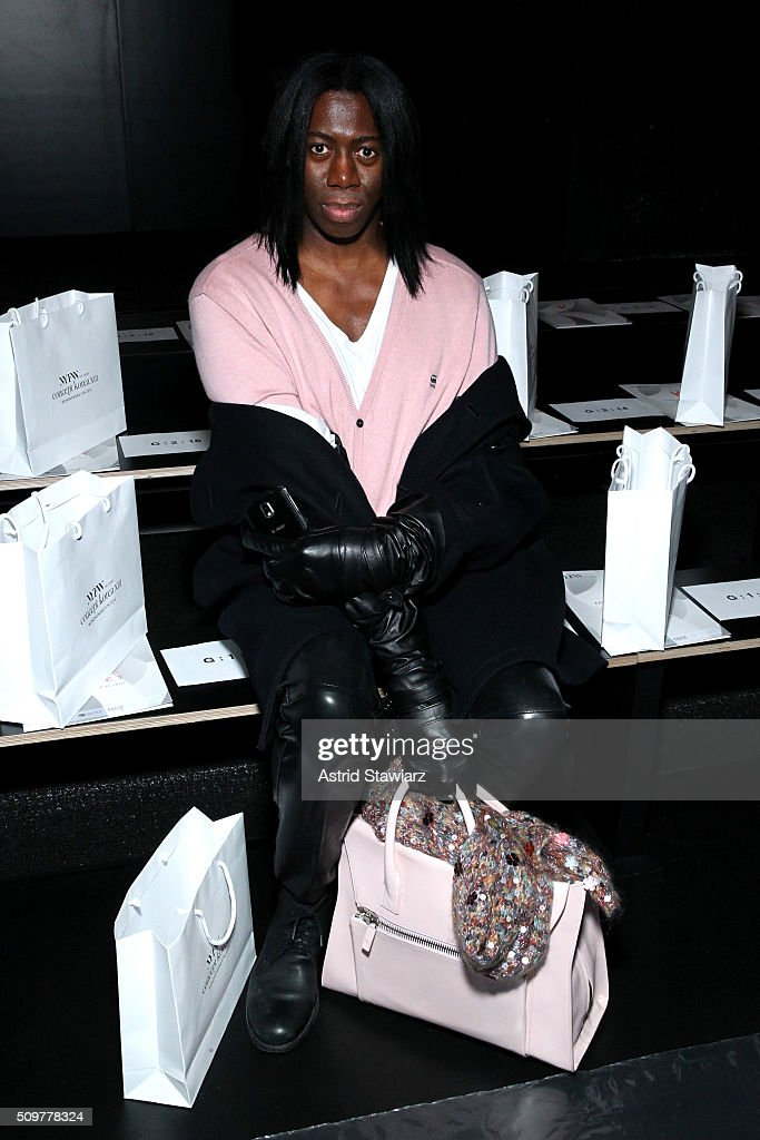 Miss <a gi-track='captionPersonalityLinkClicked' href=/galleries/search?phrase=J.+Alexander&family=editorial&specificpeople=698504 ng-click='$event.stopPropagation()'>J. Alexander</a> attends the Concept Korea Fall 2016 fashion show during New York Fashion Week: The Shows at The Dock, Skylight at Moynihan Station on February 12, 2016 in New York City.