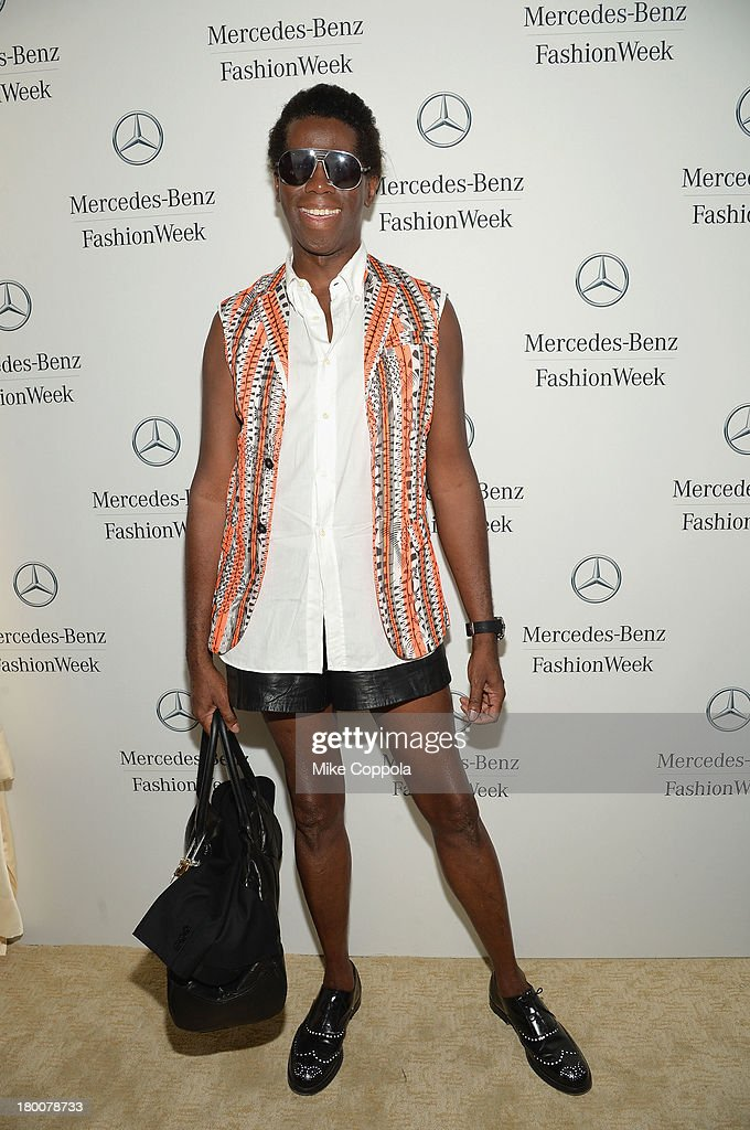 Miss <a gi-track='captionPersonalityLinkClicked' href=/galleries/search?phrase=J.+Alexander&family=editorial&specificpeople=698504 ng-click='$event.stopPropagation()'>J. Alexander</a> attends the Mercedes-Benz Star Lounge during Mercedes-Benz Fashion Week Spring 2014 on September 8, 2013 in New York City.