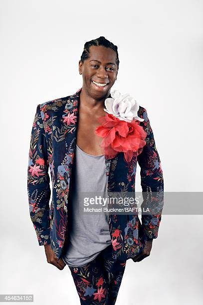 Miss J Alexander poses for a portrait at the BAFTA luncheon on August 23 2014 in Los Angeles California
