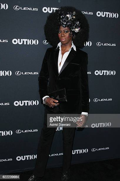Miss J attends the 2016 OUT100 Gala at Metropolitan West on November 10 2016 in New York City