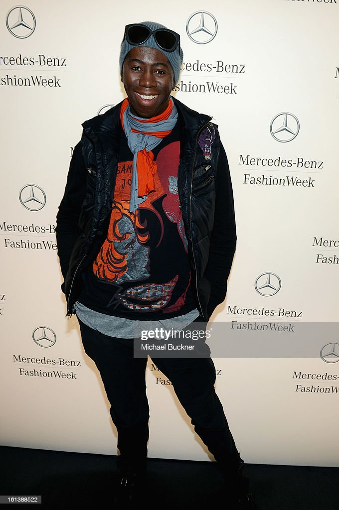 Miss J attends the Mercedes-Benz Start Lounge at Lincoln Center on February 10, 2013 in New York City.