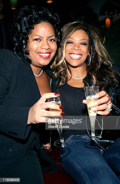 Miss Jones and Wendy Williams during Miss Jones Birthday Party at the Roxy November 4 2005 at The Roxy in New York City New York United States
