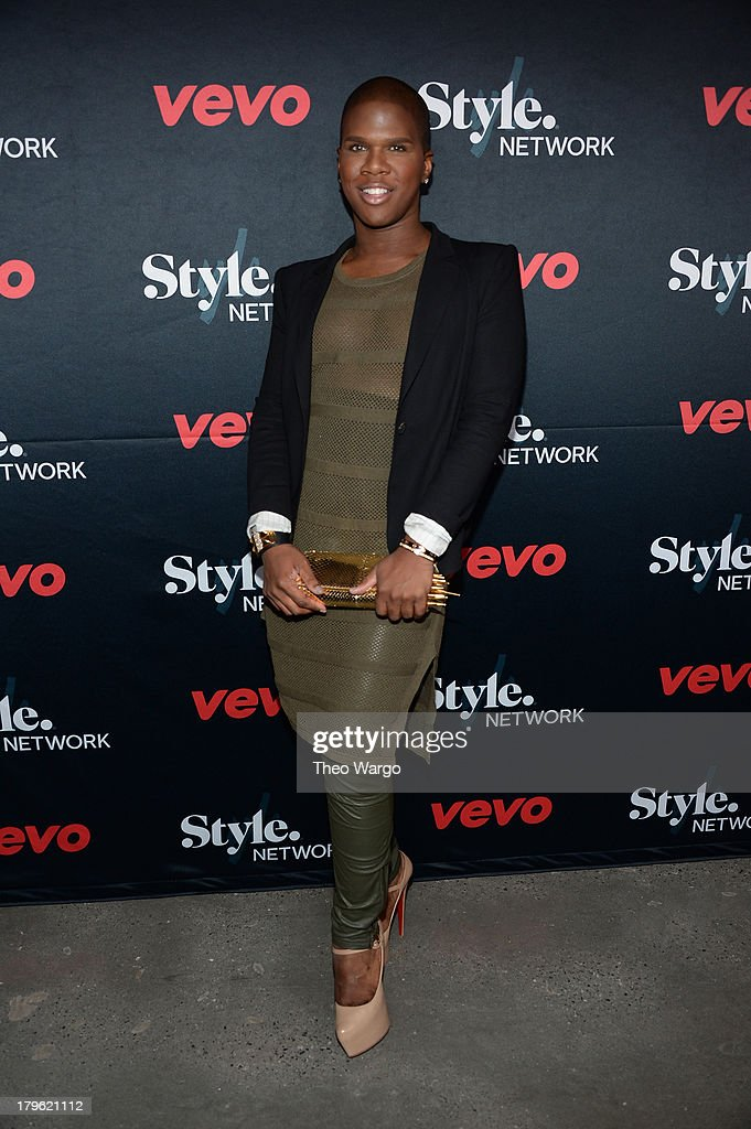 Miss Lawrence attends the VEVO and Styled To Rock Celebration Hosted by Actress, Model and 'Styled to Rock' Mentor Erin Wasson with Performances by Bridget Kelly & Cazzette on September 5, 2013 in New York City.