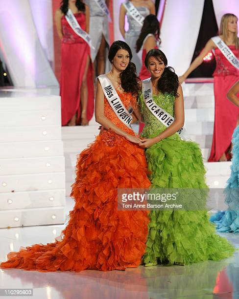 Miss Limousin Sophie Vouzelaud and Miss Picardie Rachel LegrainTrapani to be elected Miss France 2007