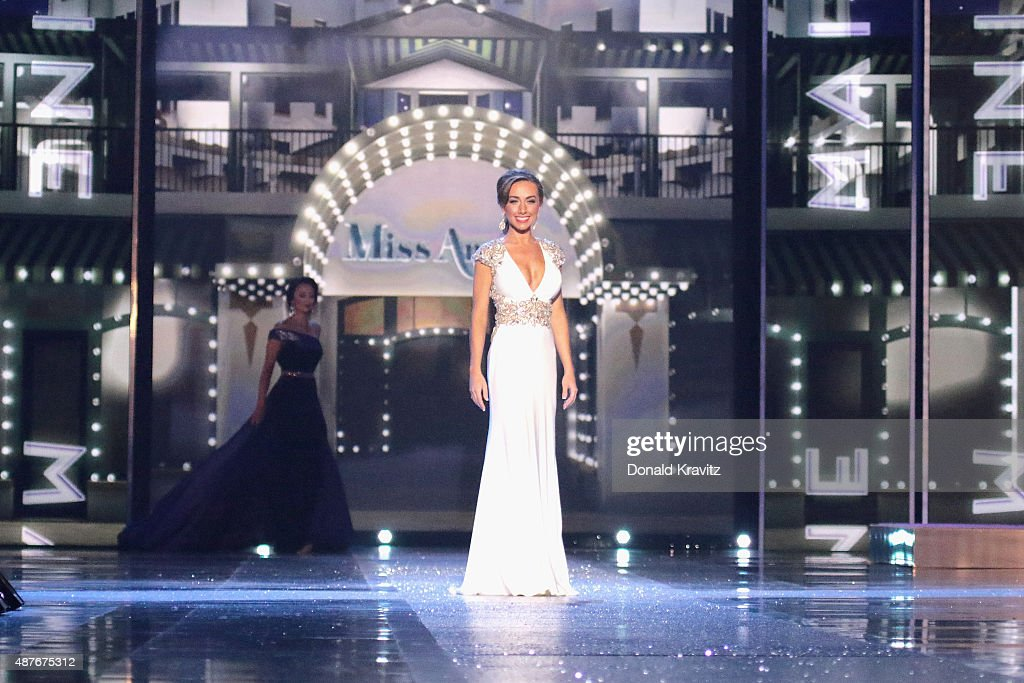 Miss Maine Kelsey Earley attends the Thursday Night Preliminaries 2016 Miss America Competition at Atlantic City Boardwalk Hall on September 10 2015...