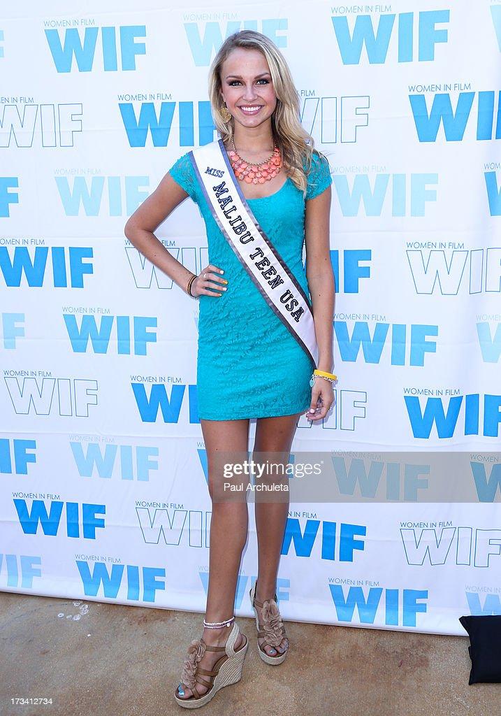 Miss Malibu Teen USA 2013 Chloe Hope Hatfield attends the Women In Film's 16th annual Malibu Celebrity Golf Classic on July 13, 2013 in Malibu, California.