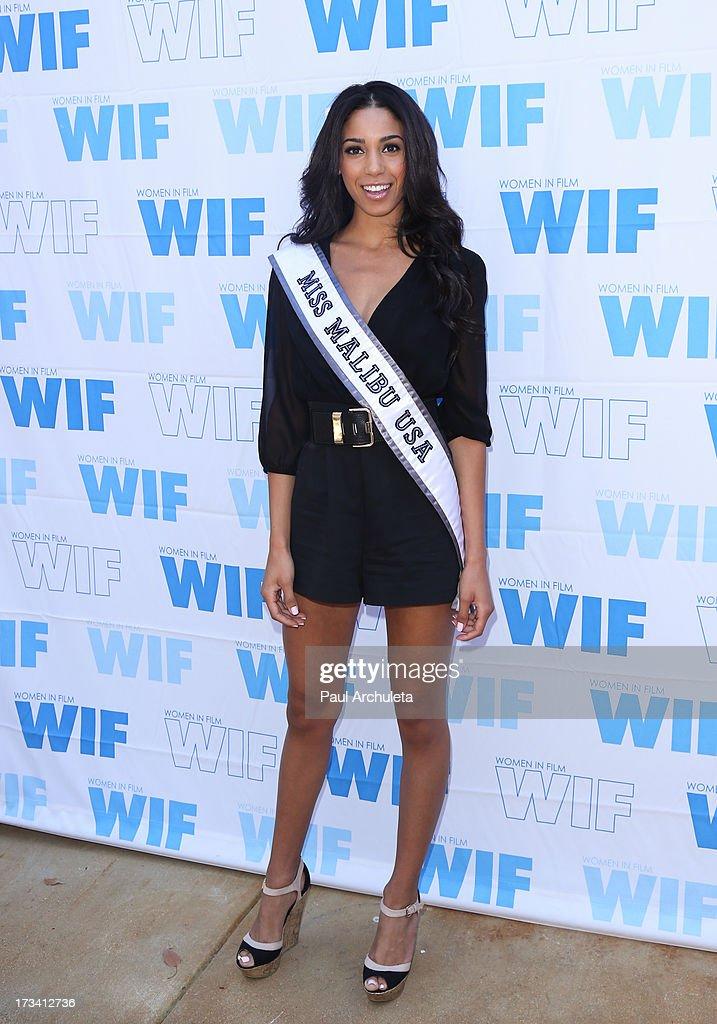 Miss Malibu USA 2013 Brittany Mcgowan attends the Women In Film's 16th annual Malibu Celebrity Golf Classic on July 13, 2013 in Malibu, California.