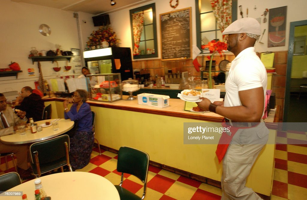 Miss Mamie's Spoonbread Too, Harlem, New York City, New York, United States of America, North America : Stock Photo
