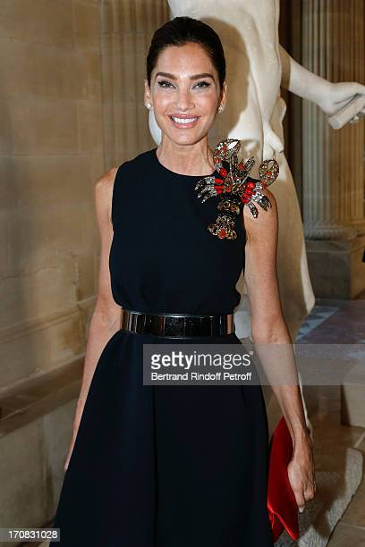 Miss Maurice Amon attends 'Liaisons Au Louvre III' Charity Gala Dinner Hosted by American International Friends of Le Louvre at Cour Carree du Louvre...