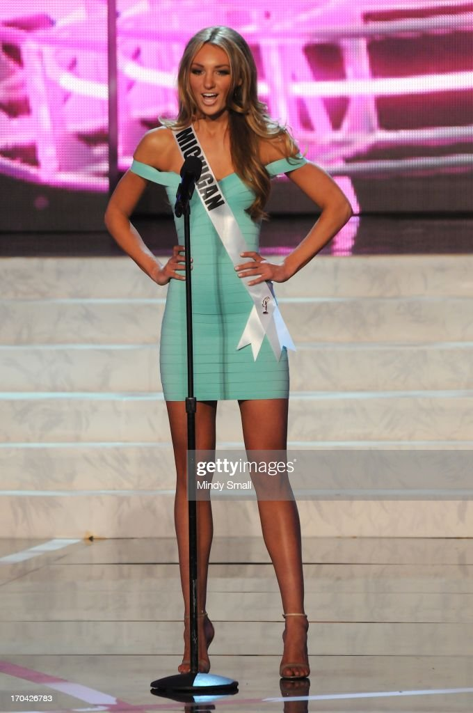 Miss Michigan USA Jaclyn Schultz appears at the 2013 Miss USA preliminary competition at PH Live at Planet Hollywood Resort & Casino on June 12, 2013 in Las Vegas, Nevada.