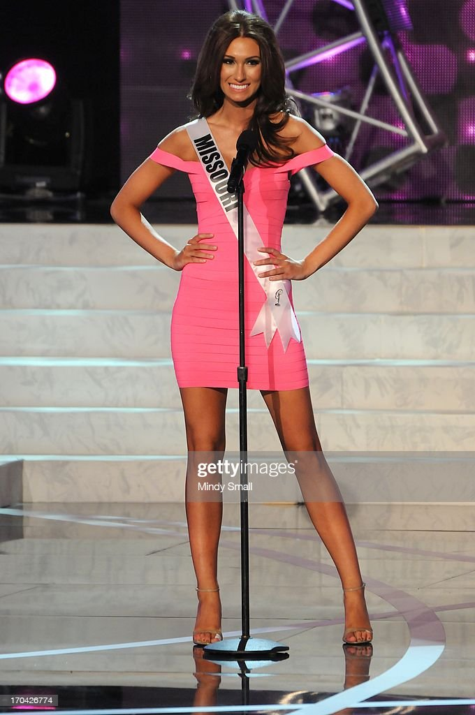 Miss Missouri USA Ellie Holtman appears at the 2013 Miss USA preliminary competition at PH Live at Planet Hollywood Resort & Casino on June 12, 2013 in Las Vegas, Nevada.