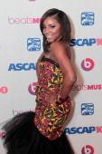 Miss Mykie arrived at the ASCAP 27th Annual Rhythm Soul Music Awards at The Beverly Hilton Hotel on June 26 2014 in Beverly Hills California