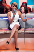 Miss Mykie hosts BET's '106 Park' at BET Studios on March 21 2013 in New York City
