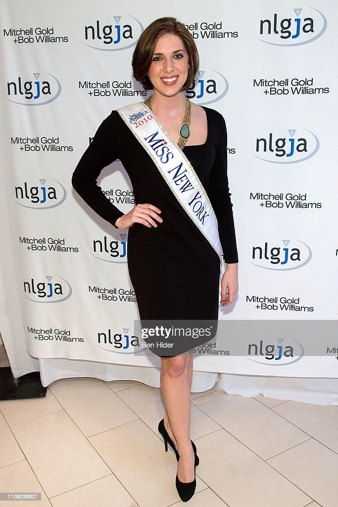 Miss New York 2010 Claire Buffie attends the National Lesbian & gay Journalists Association 16th Annual New York benefit at Mitchell Gold & Bob Williams SoHo Store on March 24, 2011 in New York City.