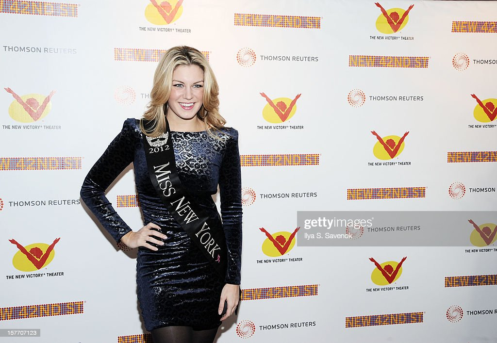 Miss New York 2012 attends New 42nd Street Gala at The New Victory Theater on December 5, 2012 in New York City.