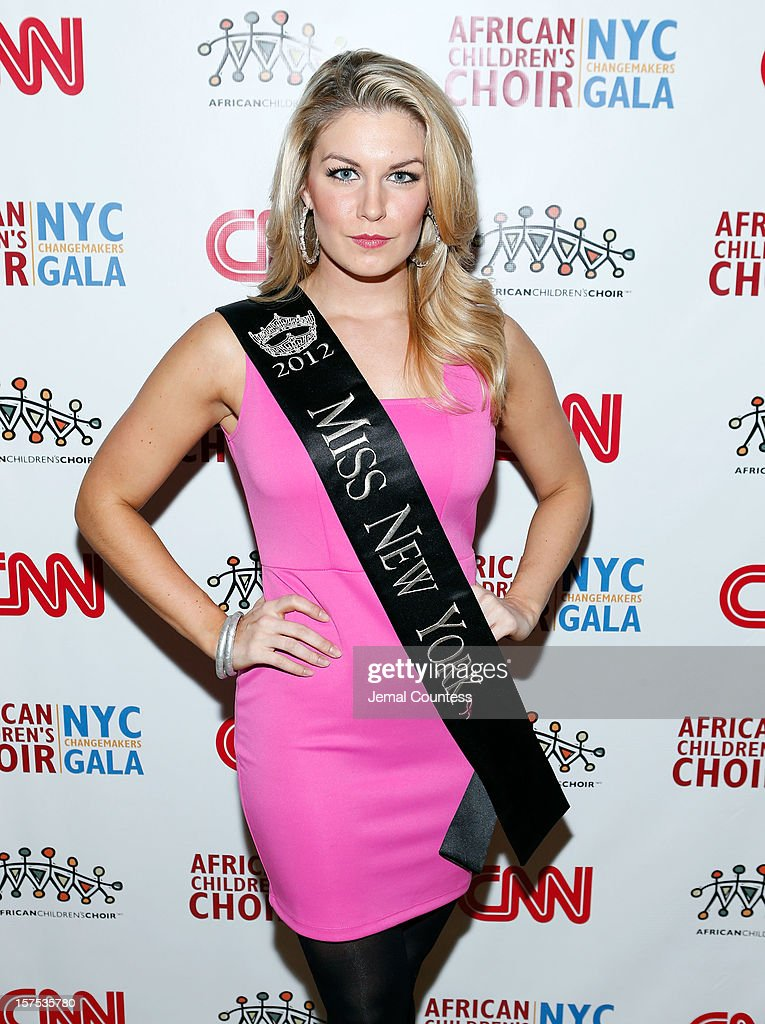 Miss New York 2012 Mallory Hagan attends the 4th Annual African Children's Choir Fundraising Gala at City Winery on December 3, 2012 in New York City.