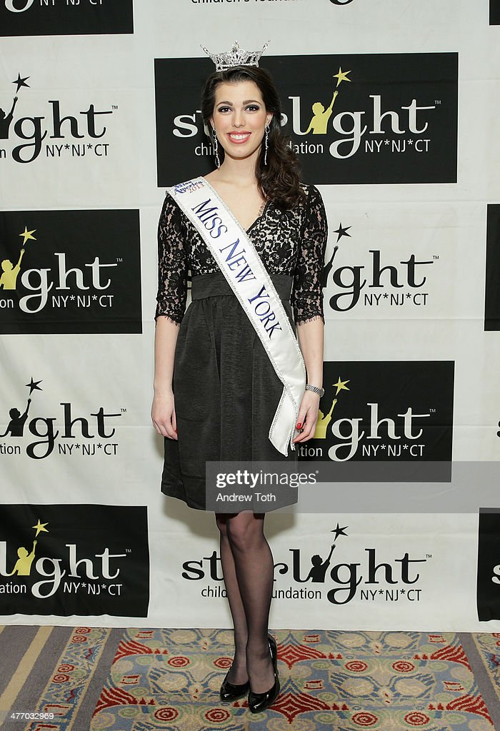 Miss New York Amanda Mason attends the 29th Annual Starlight Children's Foundation at Marriott Marquis Hotel on March 6, 2014 in New York City.