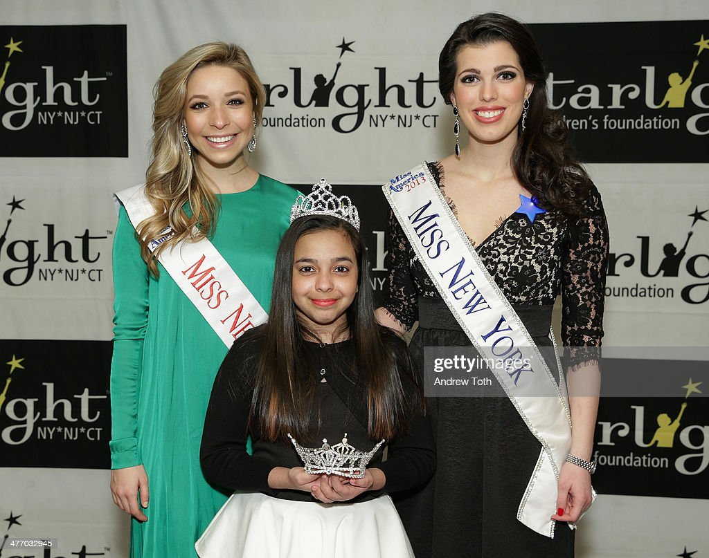 Miss New York City <a gi-track='captionPersonalityLinkClicked' href=/galleries/search?phrase=Kira+Kazantsev&family=editorial&specificpeople=12505447 ng-click='$event.stopPropagation()'>Kira Kazantsev</a> Amanda Mason (R) and a starlight kid attend the 29th Annual Starlight Children's Foundation at Marriott Marquis Hotel on March 6, 2014 in New York City.