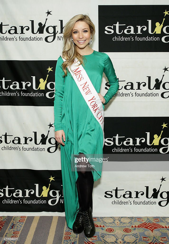 Miss New York City <a gi-track='captionPersonalityLinkClicked' href=/galleries/search?phrase=Kira+Kazantsev&family=editorial&specificpeople=12505447 ng-click='$event.stopPropagation()'>Kira Kazantsev</a> attends the 29th Annual Starlight Children's Foundation at Marriott Marquis Hotel on March 6, 2014 in New York City.