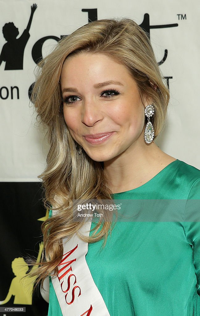 Miss New York City Kira Kazantsev attends the 29th Annual Starlight Children's Foundation at Marriott Marquis Hotel on March 6, 2014 in New York City.