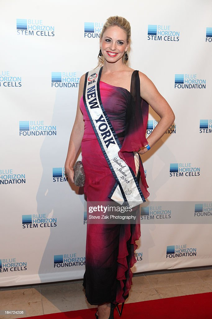 'Miss New York' Stephaine Jill Charnick attends the 2nd Annual Blue Horizon Foundation gala at Guastavino's on October 15, 2013 in New York City.