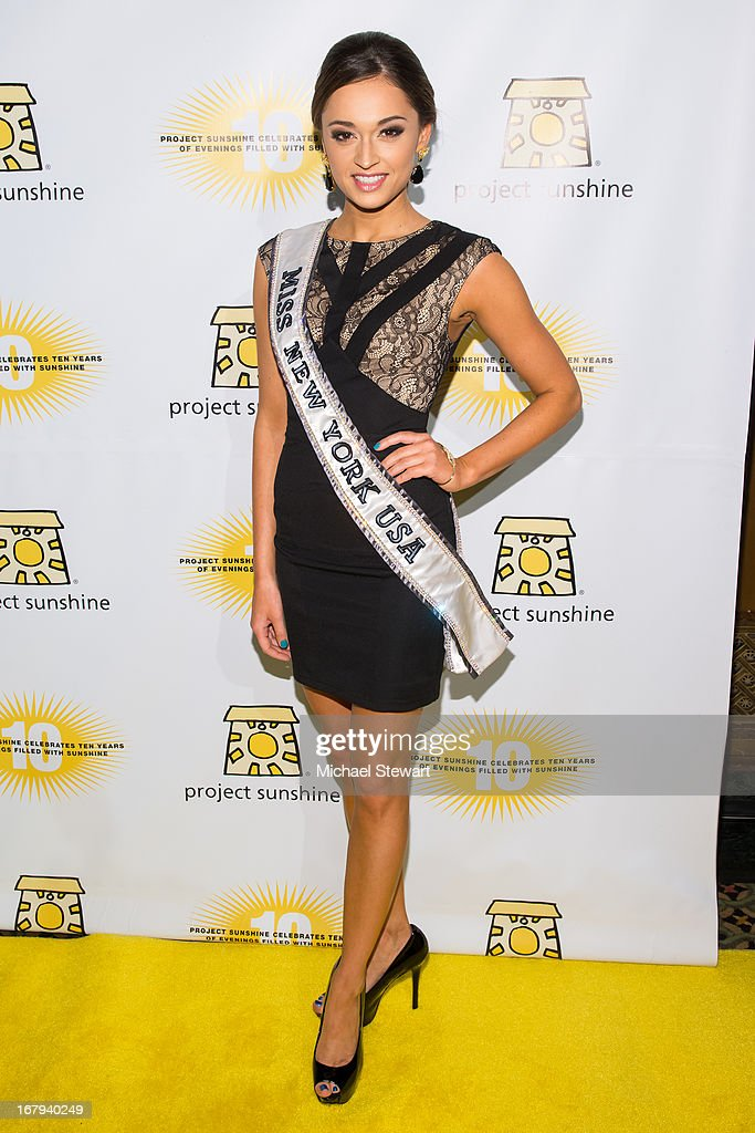 Miss New York USA 2013 Joanne Nosuchinsky attends the 10th Annual Project Sunshine Benefit at Cipriani 42nd Street on May 2, 2013 in New York City.