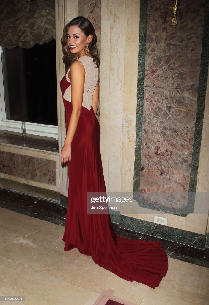 Miss New York USA Joanne Nosuchinsky attends the 16th Annual ASPCA Bergh Ball at The Plaza Hotel on April 11, 2013 in New York City.