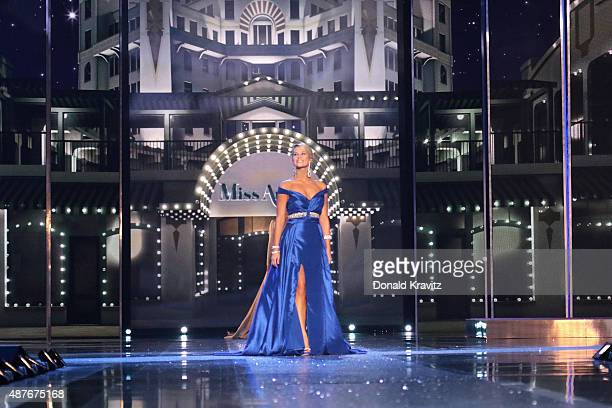 Miss North Carolina Kate Peacock attends the Thursday Night Preliminaries 2016 Miss America Competition at Atlantic City Boardwalk Hall on September...