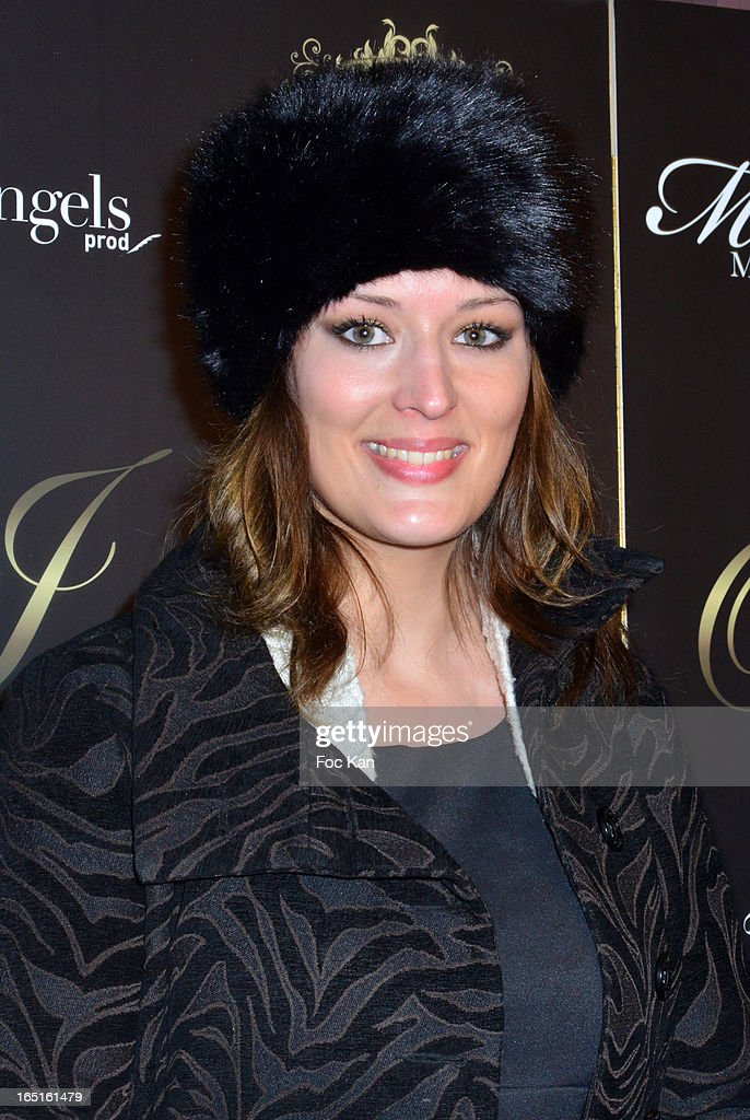 Miss Paris 2009 Kelly Bochenko attends the 'OmarJeans' Launch Party At The Pavillon Champs Elysees on March 31, 2013 in Paris, France.