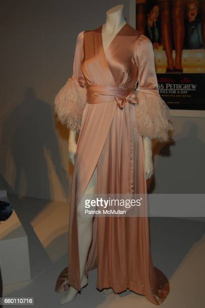 Miss Pettigrew Lives for a Day attends LACMA Costume Council exclusive preview of FIDM's 17th Annual Art of Motion Picture Costume at Fashion...
