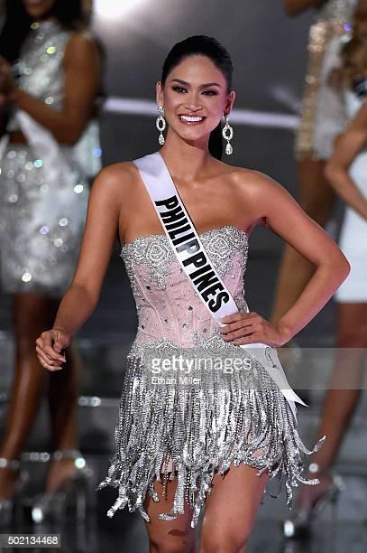 Miss Philippines 2015 Pia Alonzo Wurtzbach is named a top 15 finalist during the 2015 Miss Universe Pageant at The Axis at Planet Hollywood Resort...