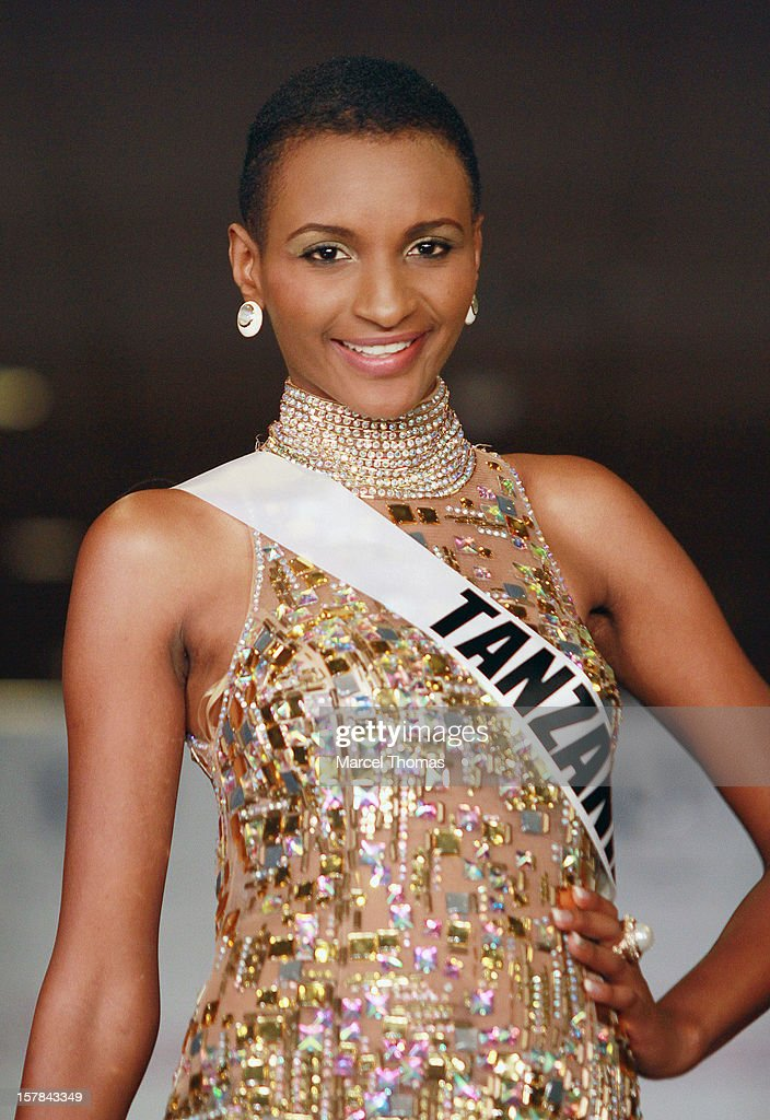 Miss Tanzania Winfrida Dominic walks the runway as part of the 2012 Miss Universe Pageant's Official Welcome Event at Planet Hollywood Resort and Casino on December 6, 2012 in Las Vegas, Nevada.