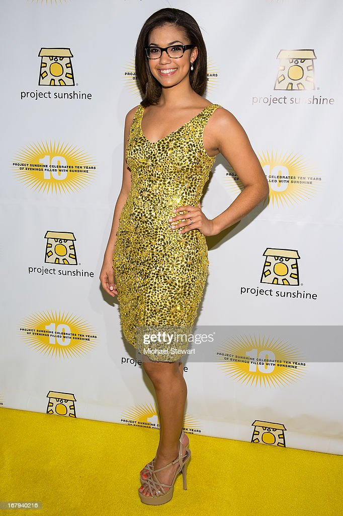Miss Teen USA 2012 Logan West attends the 10th Annual Project Sunshine Benefit at Cipriani 42nd Street on May 2, 2013 in New York City.
