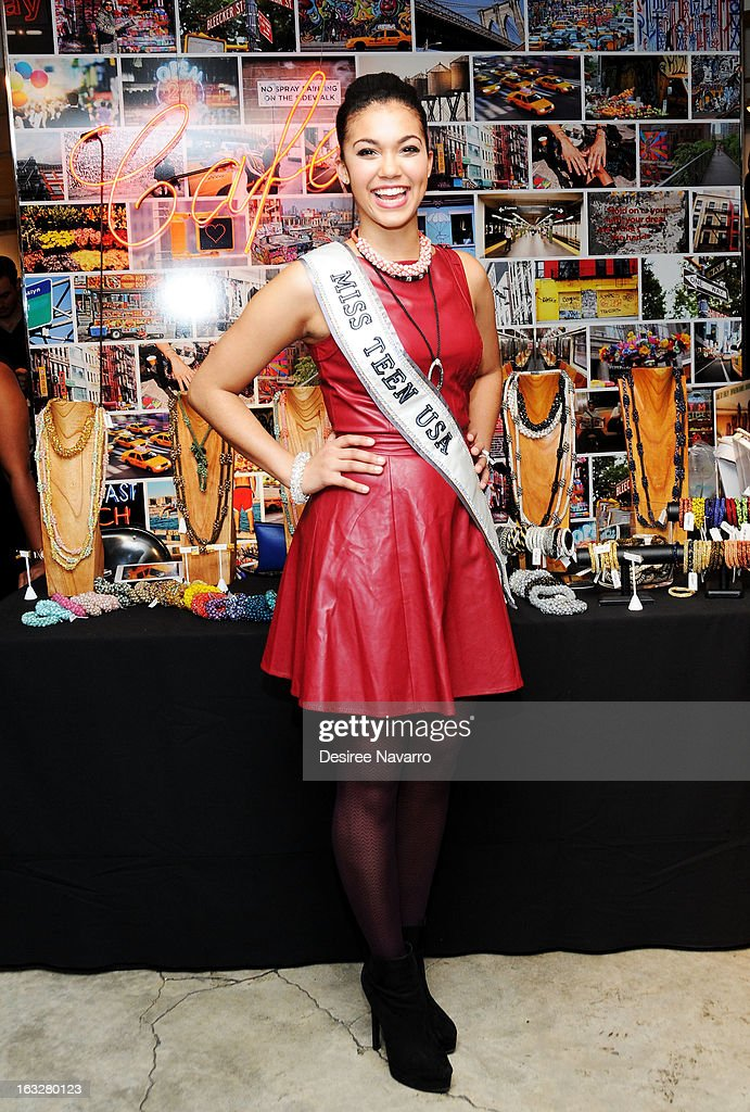 Miss Teen USA 2012, Logan West attends the DKNY & Same Sky Host An Ethical Shopping Event To Celebrate International Women's Day at DKNY Store on March 6, 2013 in New York City.