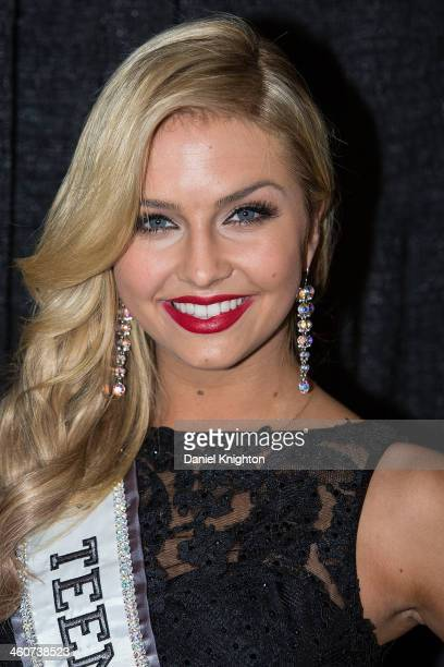 Miss Teen USA 2013 Cassidy Wolf arrives at the Miss California Teen USA 2014 Pageant at Terrace Theater on January 4 2014 in Long Beach California